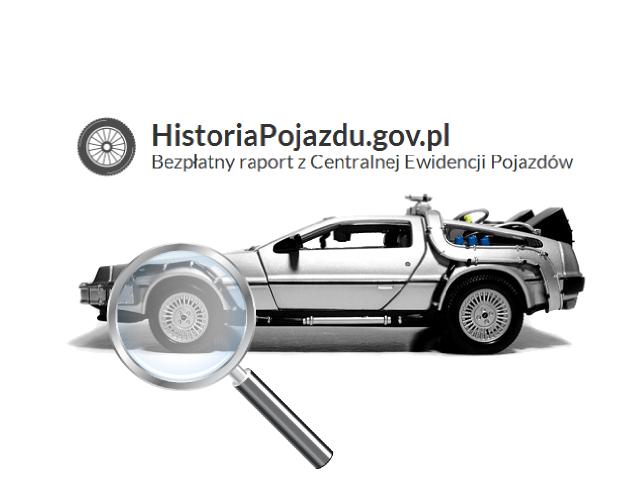 Historia pojazdu
