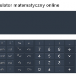 kalkulator matematyczny online