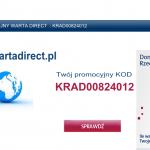 Kod promocyjny warta direct