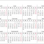 kalendarz 2017 1rok