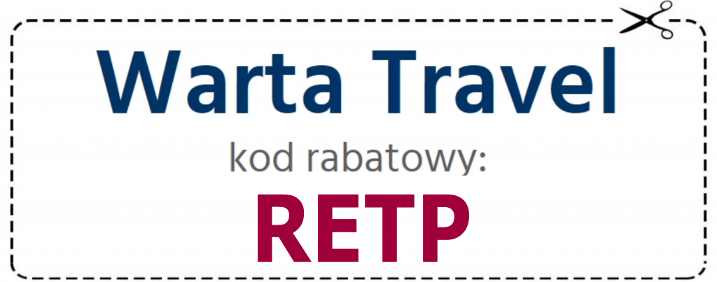 Warta travel online kod rabatowy