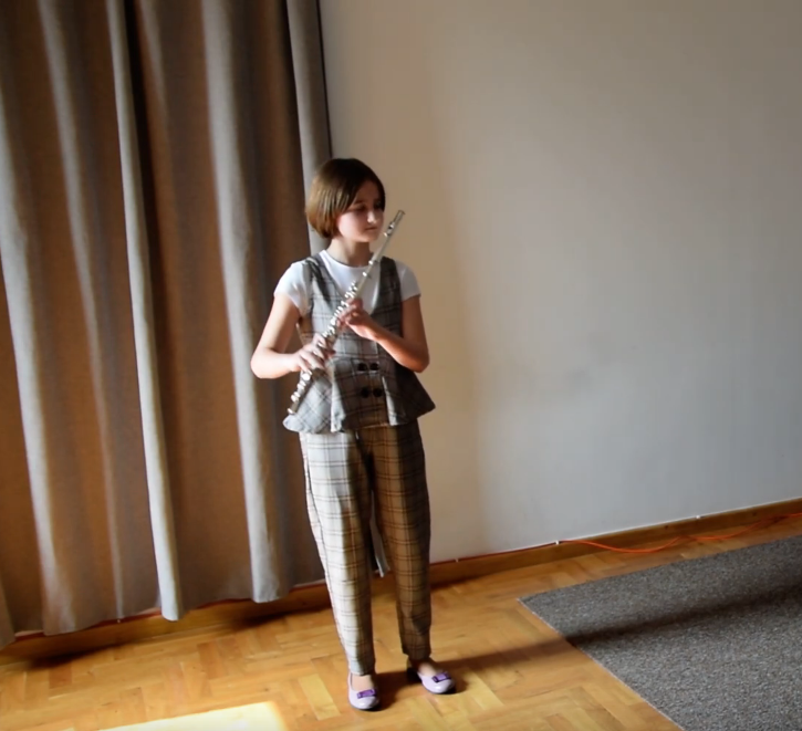 Helena Gwóźdź flet poprzeczny transverse flute